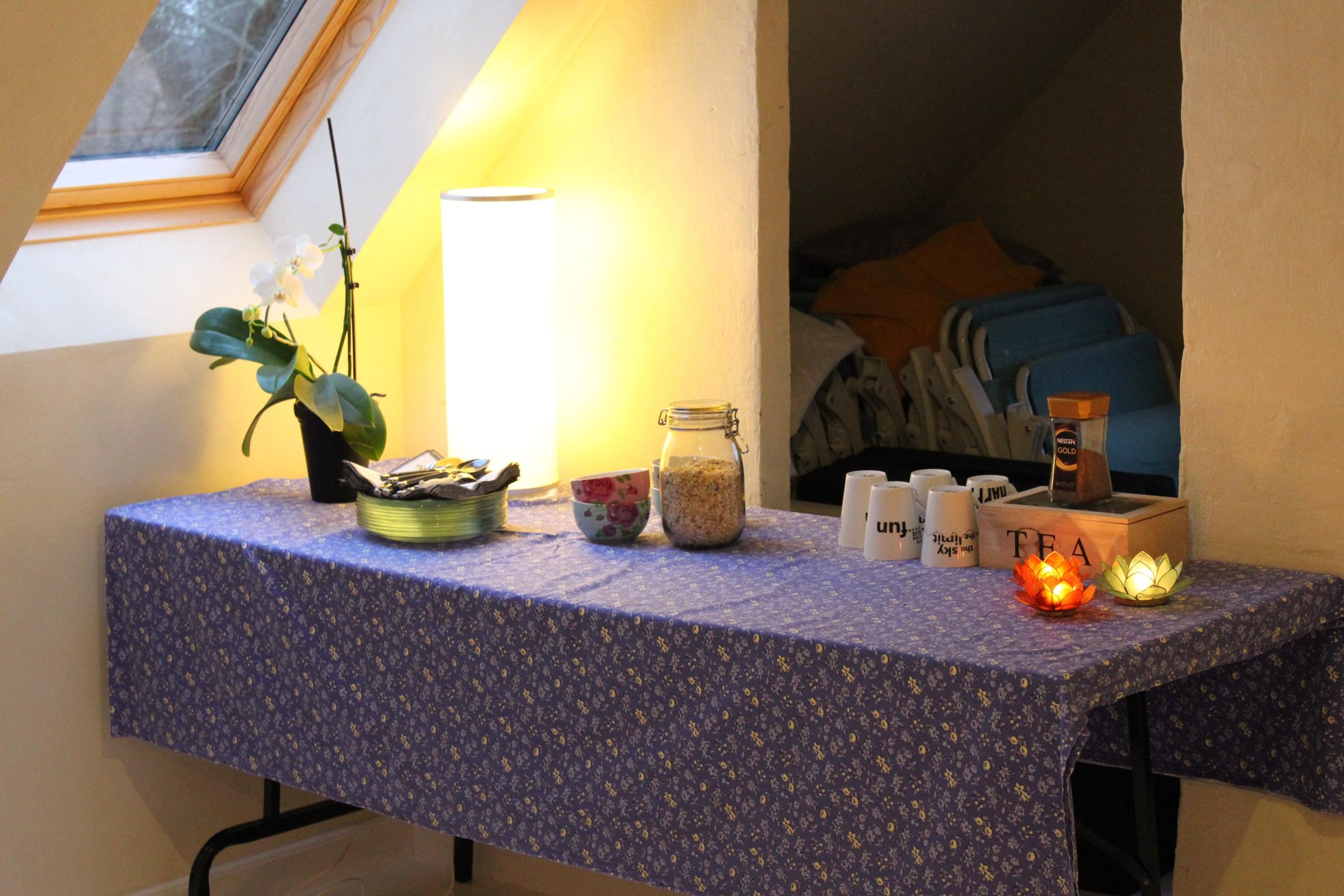 Morgenmad, kaffe/the og kage