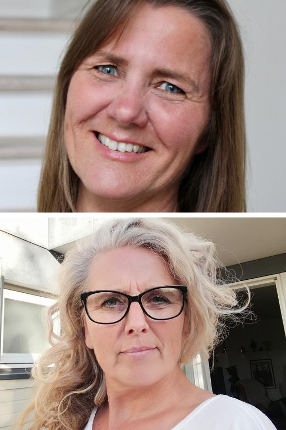 Billedecollage af Anette Bækkelund og Anja Refsborg